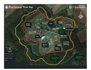 Campus Trails Map
